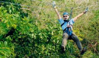 Holland America Tour: Costa Rica Zip Line Adventure