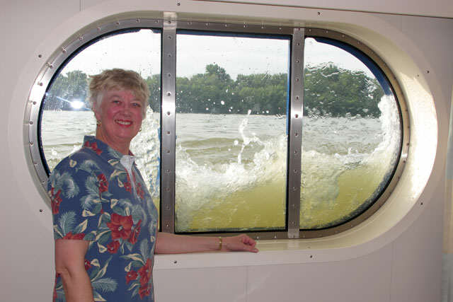 Diana & the Stateroom Window