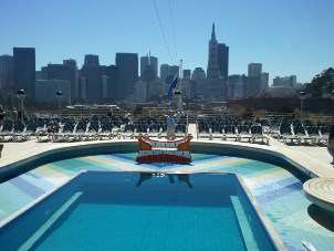 Aft Pool With San Francisco Backdrop