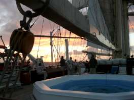 On Deck For Sunset