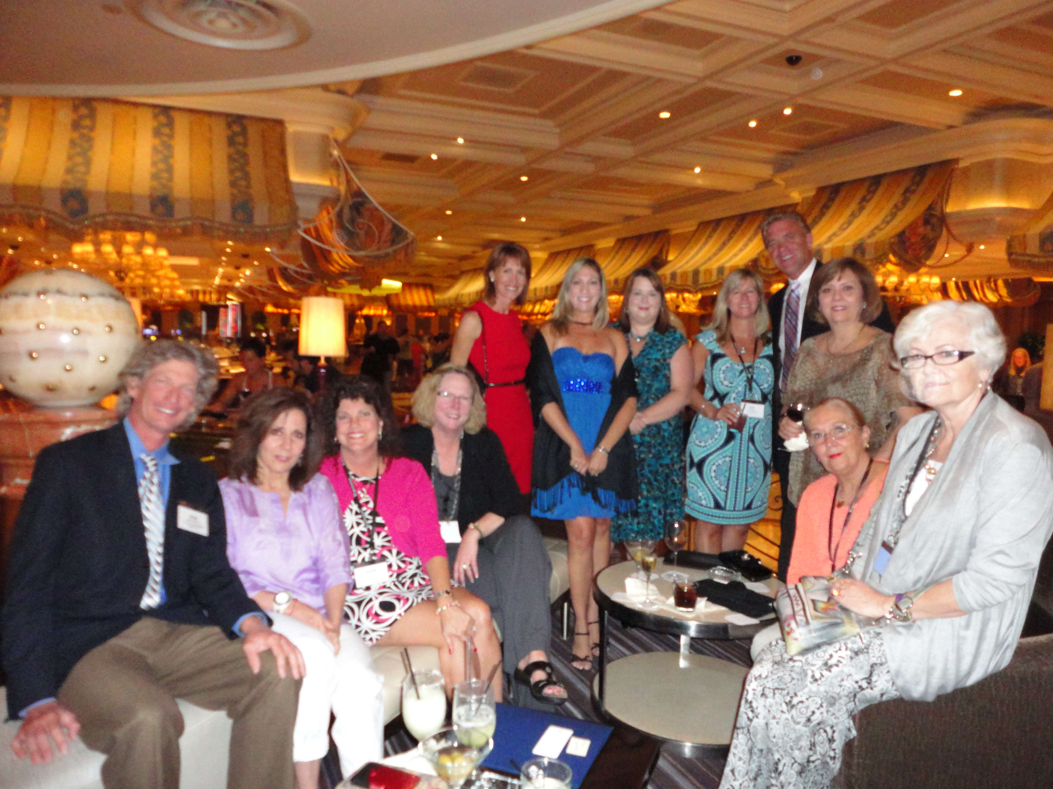 Cruise Specialists and Luxury Travel Network team at Travel Mart