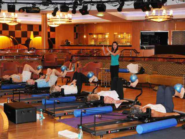 Pilates aboard Crystal World