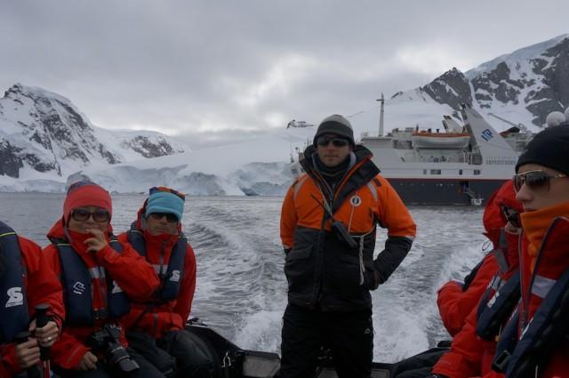 Antarctica zodiac boats