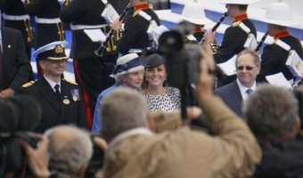 A Royal Affair In Southampton The Duchess of Cambridge, Kate Middleton, Christens Royal Princess