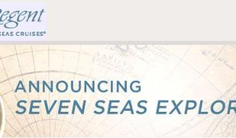"Regent Seven Seas Announces New ""Explorer"" Cruise Ship"