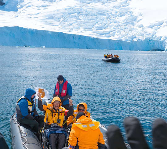 Adventure cruise to the Antarctic