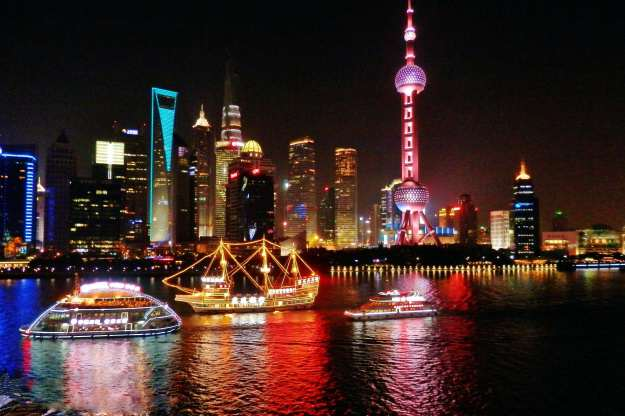 Shanghai Lights at Night