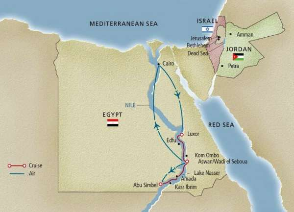 Viking Egypt Map 2015 640x462