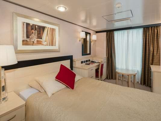 Cunard Queen Victoria Single Stateroom