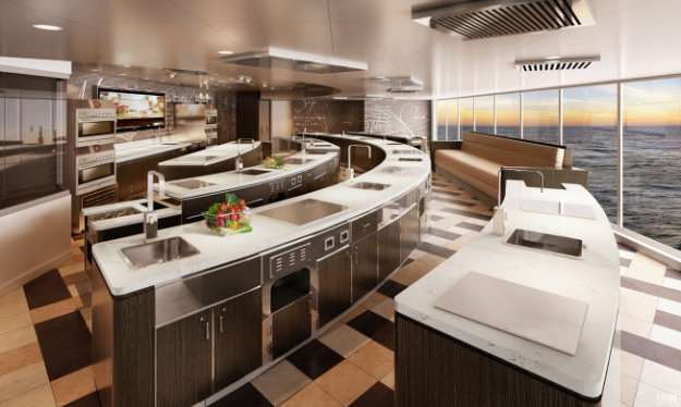 culinary kitchen of the seven seas explorer