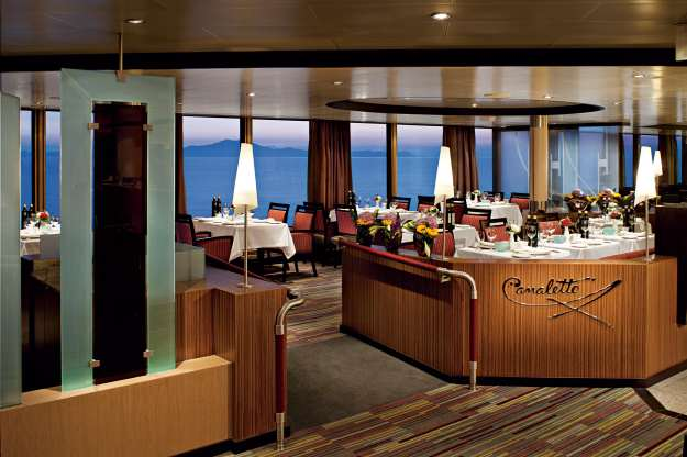 Canaletto  restaurant - Holland America cruise