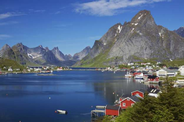 Reine Norway Fjords Summer Cruise