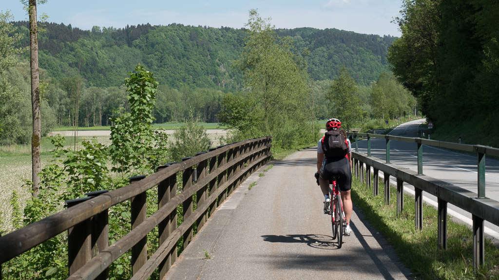 Dedicated bike roads in Austria. © 2015 Ralph Grizzle