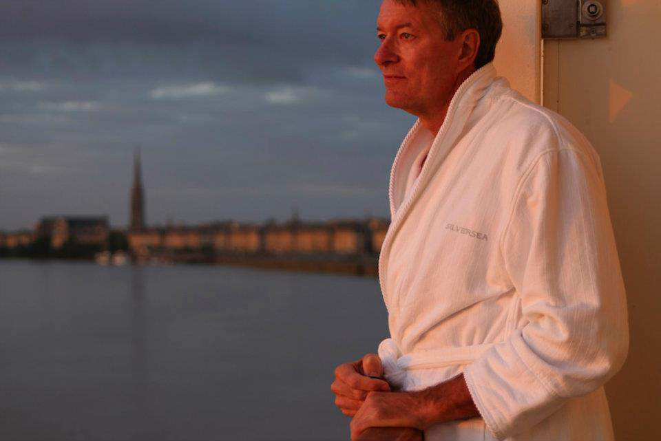 In Bordeaux on Silversea.