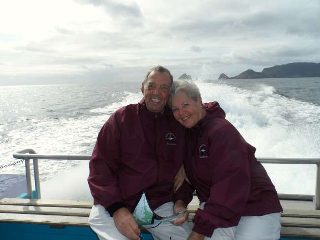 Grand World Voyage Hosts Henk and Lucia Barnhoorn
