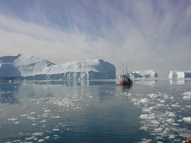 Ilulissat Icefjord - Flickr photo by Greenland Travel