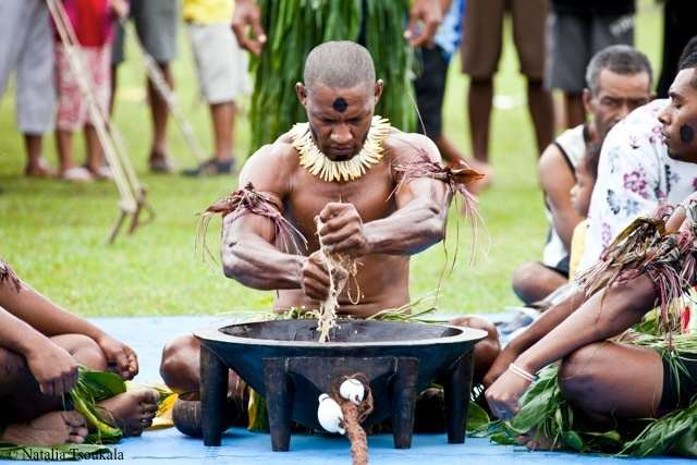 Yagona Ceremony in Fiji - photo by Pacific Voyagers