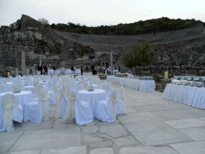 Special Holland America Dining in Ephesus