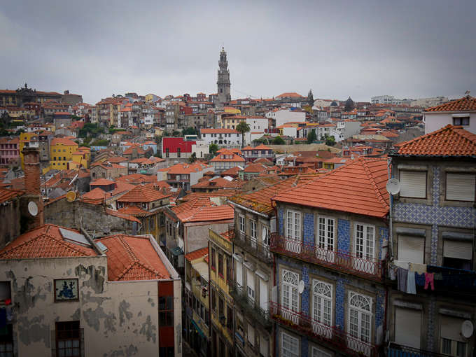 Porto, Portugal, where river cruises begin and end on the Douro River. © 2014 Ralph Grizzle