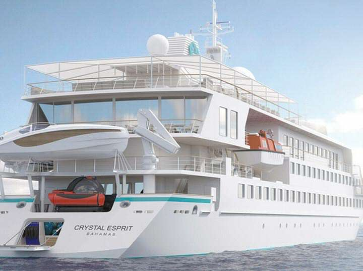 Crystal Cruise Lines new planned Crystal Esprit yacht