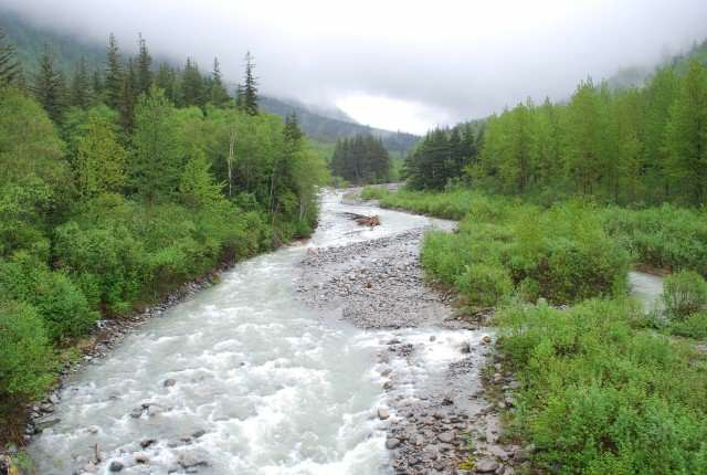 Following the Skagway River