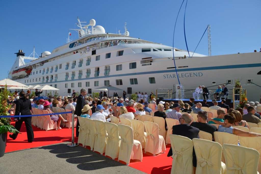 Windstar Legend - final refurbished ship sets sail