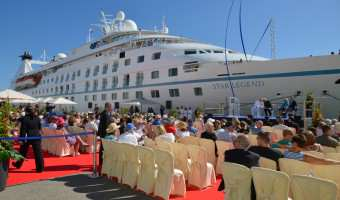 Windstar Legend - final refurbished ship sets sail