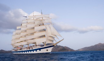 Sailing the Grenadines aboard Royal Clipper