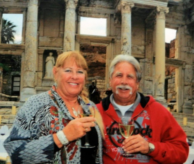Why Bill and Mary continue to world cruise
