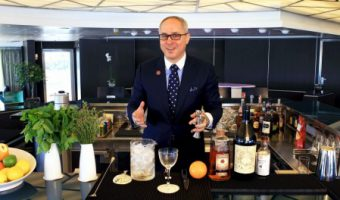 Seabourn Sets Sail with World-Renowned Mixologist Brian Van Flandern