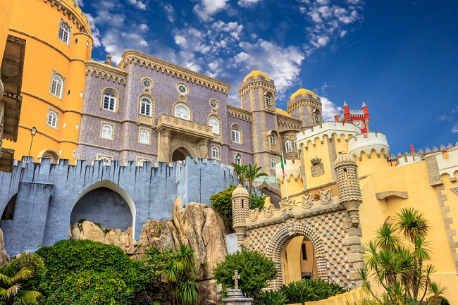 Castle in Sintra Portugal
