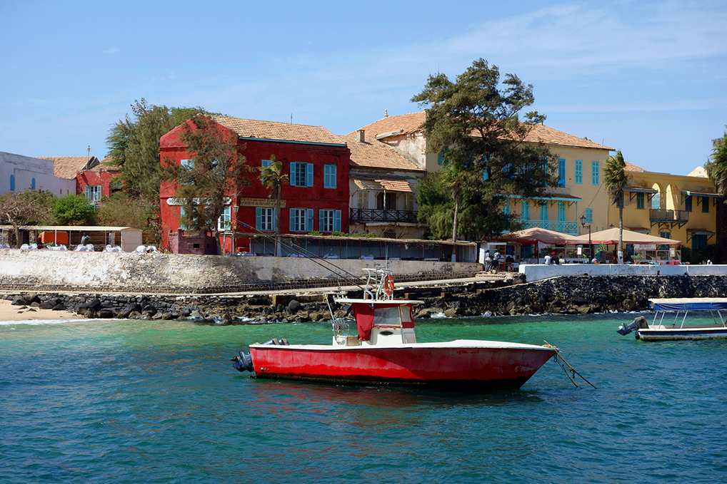 Goree Island - World Voyage Cruise