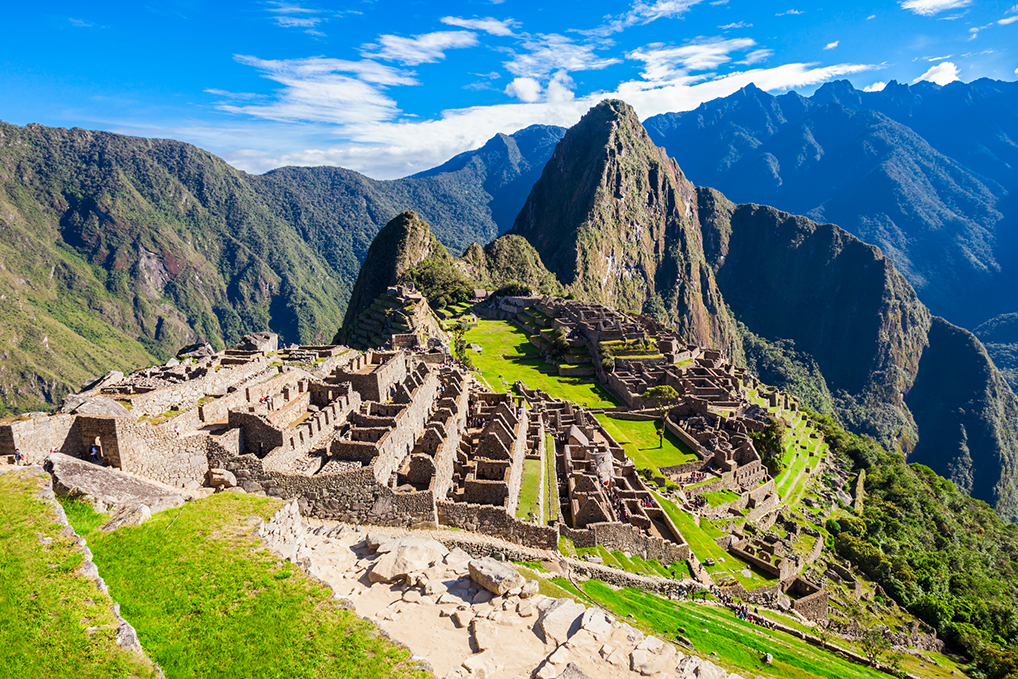 Voyage Hosts Henk and Lucia Machu Picchu