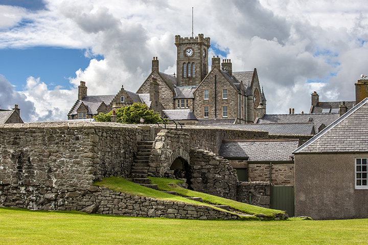 Viking offers a selection of complimentary tours in every port of call - even in tiny Lerwick, Scotland.