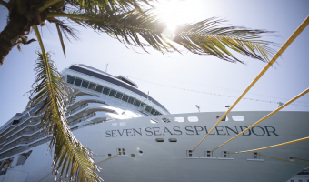 Bow of Regent Seven Seas Splendor