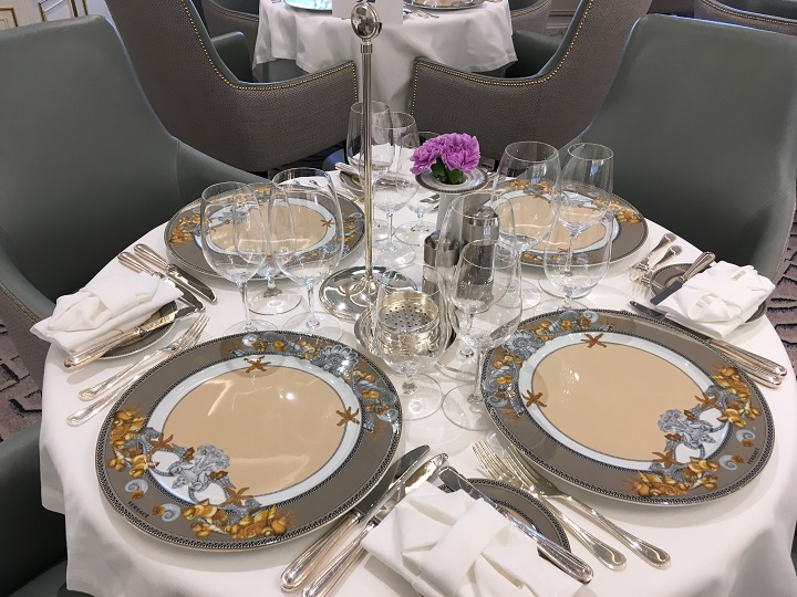 beautiful china place setting
