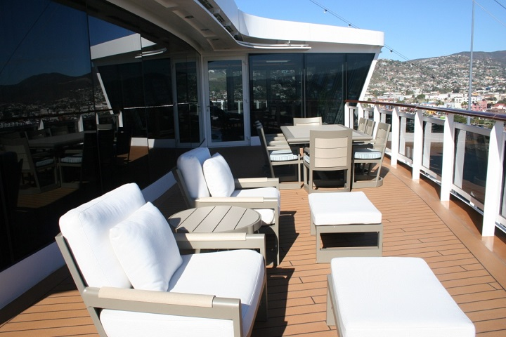 cruise ship suite large veranda