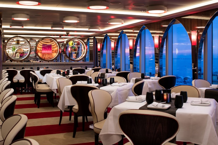 restaurant on board cruise ship