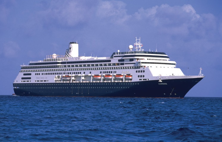 Zaandam cruise ship
