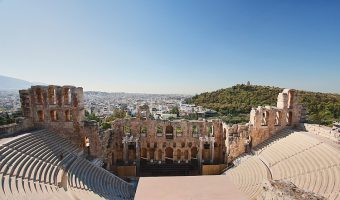 Odeon of Herodes Atticus, Athens.