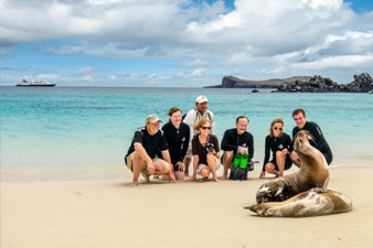 Celebrity in the Galapagos