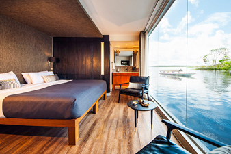 Design Suite aboard Aria Amazon