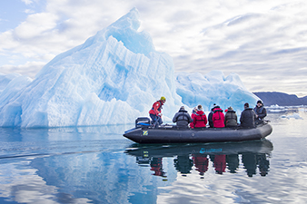 Exploring the Frozen Seas in a Zodiac
