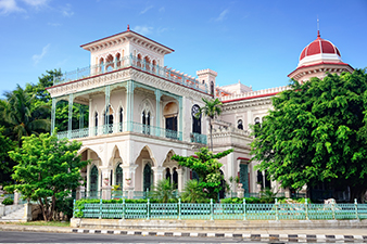 Colonial Architechture in Cienfuegos