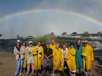 World Cruise Tour to Victoria Falls, Zimbabwe