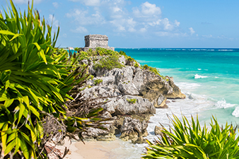 Seaside Ruins of Tulum