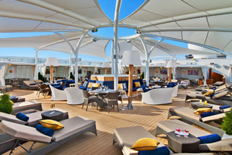 Seabourn Encore, The Retreat
