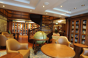 Relaxing in the Ship's Library