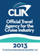 CLIA - Official Travel Agency for the Cruise Industry - 2013