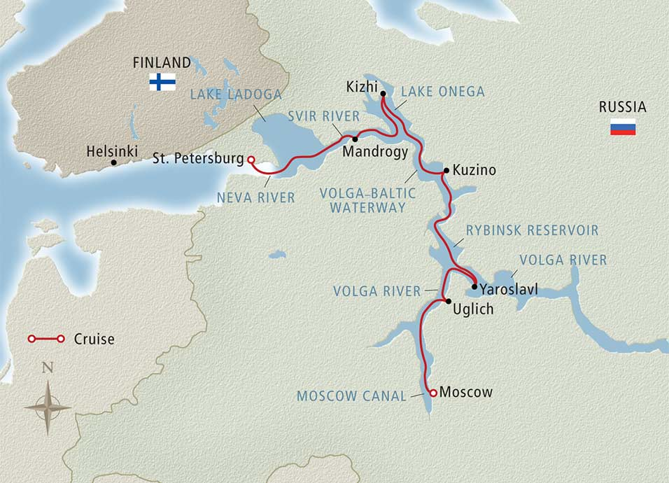 Russian River map